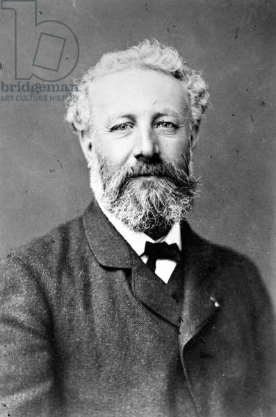 JULES VERNE (1828-1905) French writer. Photographed by Nadar.