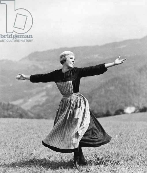 FILM: SOUND OF MUSIC, 1965 Julie Andrews as Maria in a scene from the 'Sound of Music,' 1965.