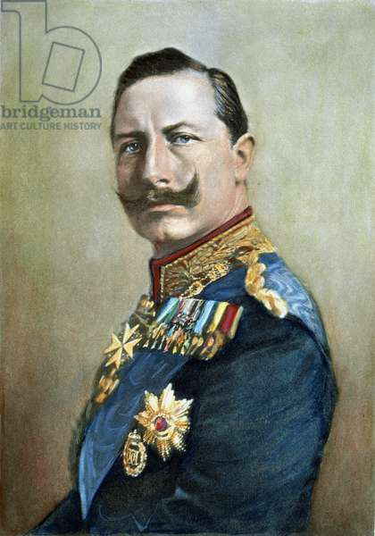 WILLIAM II OF GERMANY (1859-1941). Emperor of Germany.