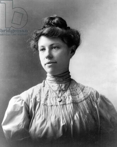 CHARMIAN KITTREDGE LONDON (1871-1955). American writer and second wife of writer Jack London. Photograph, early 20th century.
