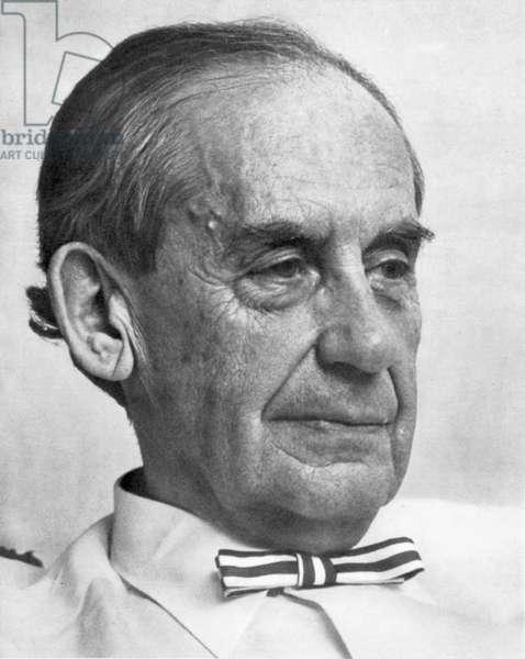 WALTER GROPIUS (1883-1969). German architect.