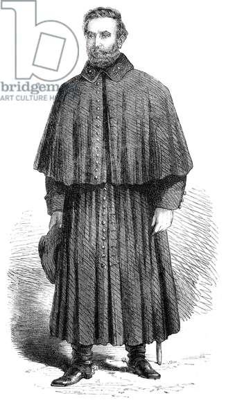 STONEWALL JACKSON (1824-1863). Thomas Jonathan 'Stonewall' Jackson. American Confederate general. Wood engraving, 1863.