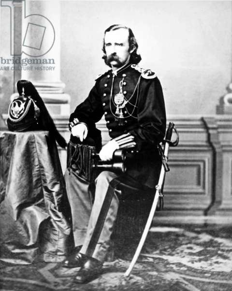 GEORGE CUSTER (1839-1876) American army officer. Photographed c.1872.