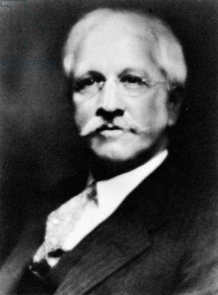 JAMES HENRY BREASTED (1865-1935). American Orientalist, archaeologist, and historian.