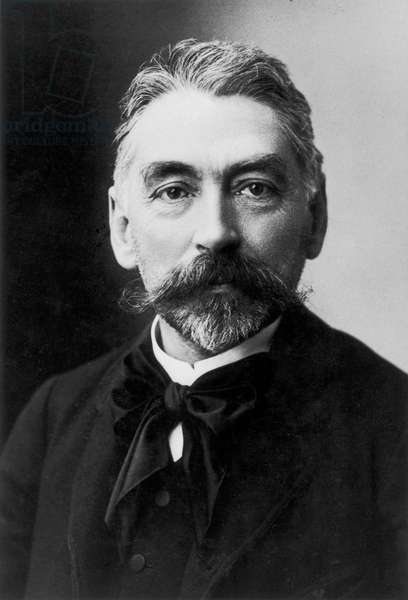 STÉPHANE MALLARMÉ (1842-1898). French poet. Photographed by Nadar.