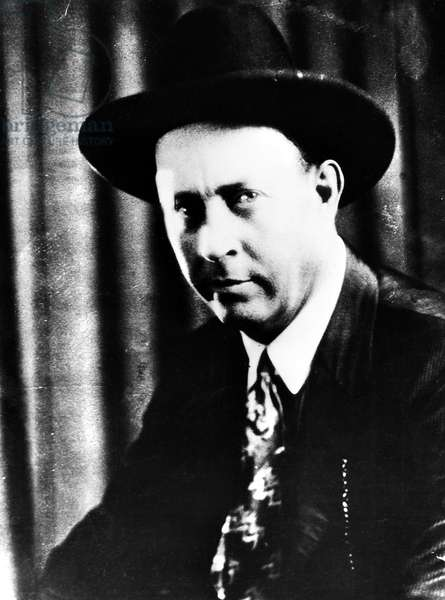 FRANCIS AUGUSTUS HAMER (1884-1955). Texas Ranger, known for his involvement in the tracking down and killing of Bonnie Parker and Clyde Barrow. Photograph, early 20th century.