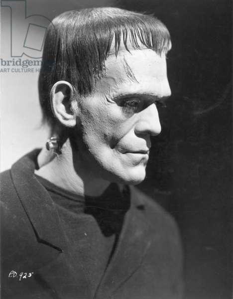 BORIS KARLOFF (1887-1969) As the monster in Frankenstein, 1931.