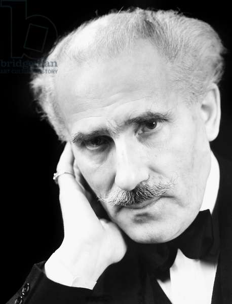 ARTURO TOSCANINI (1867-1957). Italian orchestral conductor. Photographed in 1938.