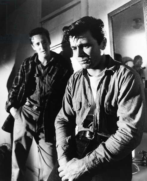 FILM: IN COLD BLOOD, 1967 Robert Blake and Scott Wilson as the two criminals in the film adaptation directed by Richard Brooks, of Truman Capote's book of the same name.