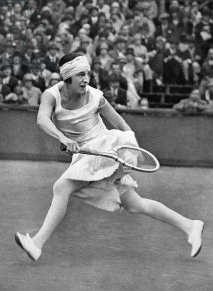 SUZANNE LENGLEN (1899-1938) French tennis player. Photographed in 1926.