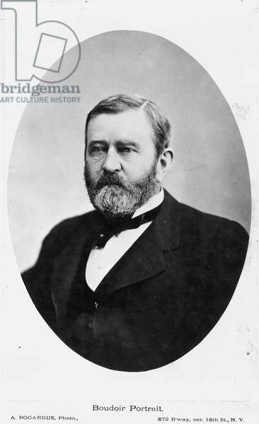 ULYSSES S. GRANT (1822-1885) 18th President of the United States.