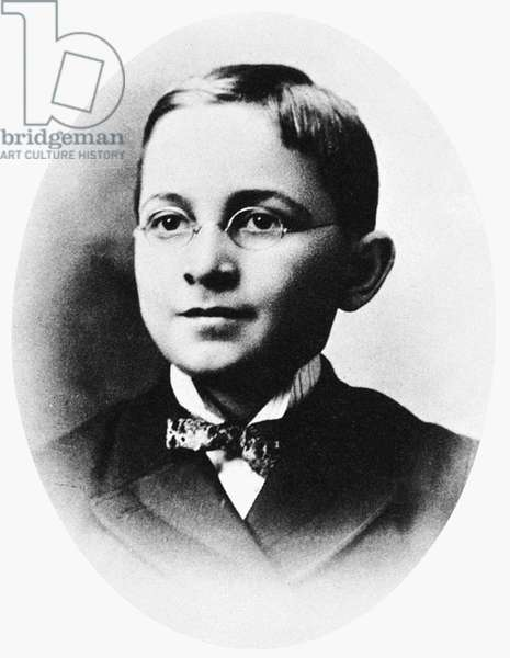 HARRY S. TRUMAN (1884-1972) 33rd President of the United States. Photographed in his boyhood with the eyeglasses he wore from the age of eight.