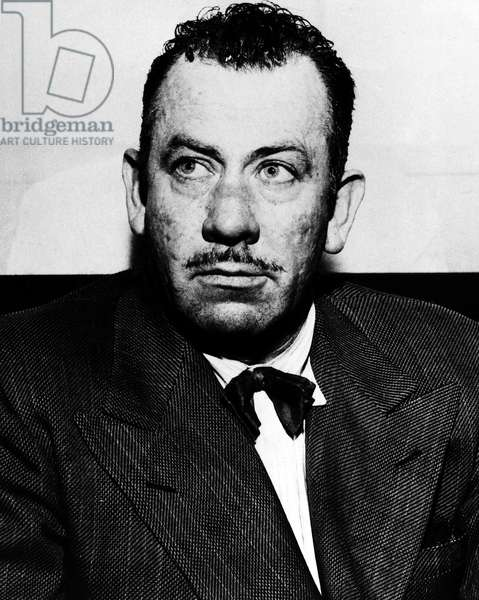 JOHN STEINBECK (1902-1968). American writer. Photographed 1949.