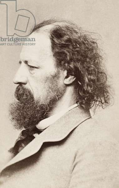 ALFRED TENNYSON (1809-1892) 1st Baron Tennyson. English poet.