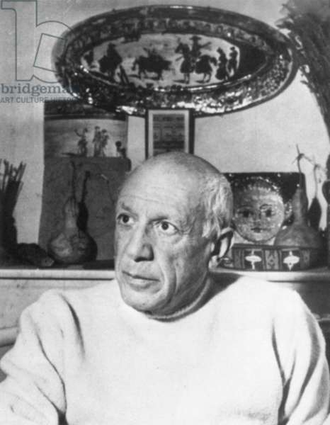 PABLO PICASSO (1881-1873) Spanish painter and sculptor.