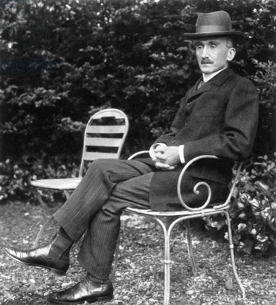 HENRI BERGSON (1859-1941) French philosopher. Photographed c.1905.