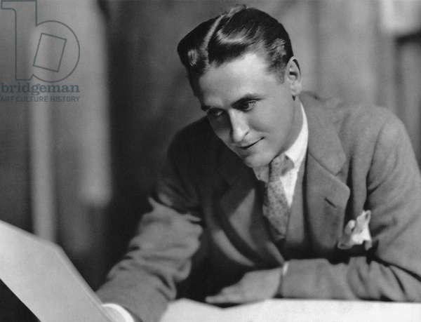 F. SCOTT FITZGERALD (1896-1940). Francis Scott Key Fitzgerald. American writer. Photographed c.1925 by Nickolas Muray.