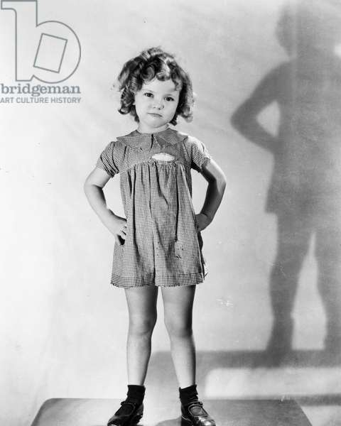 SHIRLEY TEMPLE (1928-2014) American film actress.