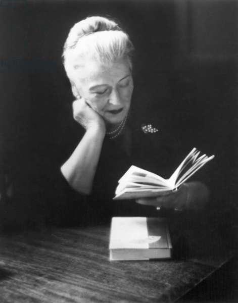 PEARL BUCK (1892-1973) American novelist.
