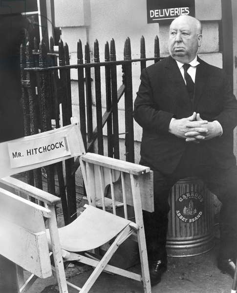 ALFRED HITCHCOCK (1899-1980) Alfred Joseph Hitchcock. English motion picture director. Photographed in 1973.