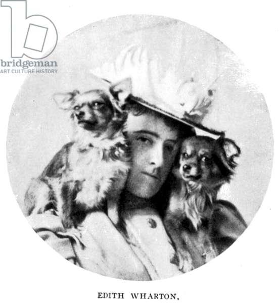 EDITH WHARTON (1862-1937) American writer.