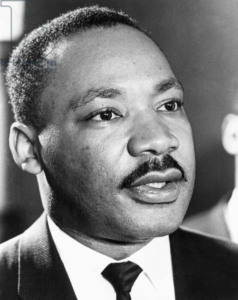 MARTIN LUTHER KING, JR (1929-1968). American cleric and reformer. Photographed in March 1965.