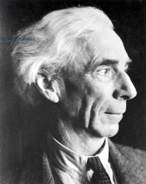 BERTRAND RUSSELL (1872-1970) 3rd Earl Russell. English mathematician and philosopher; photographed in 1948.