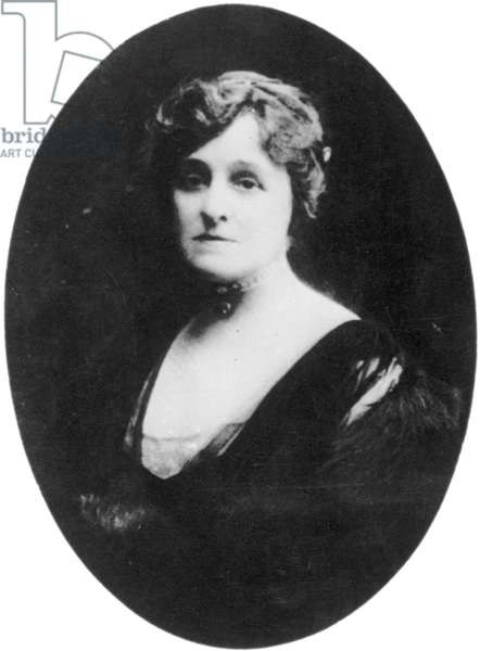 EDITH WHARTON (1862-1937) American writer. Photographed by Paul Thompson, c.1910.