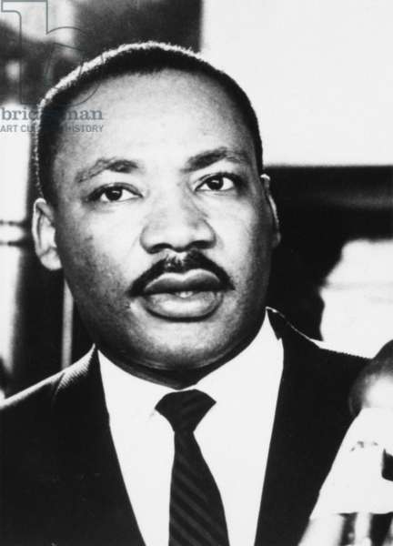 MARTIN LUTHER KING, JR (1929-1968). American clergyman and civil rights leader.