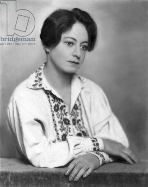 DOROTHY PARKER (1893-1967) American writer. Photographed in 1928.