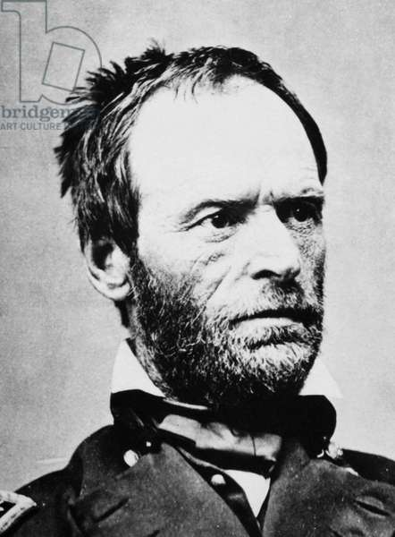 WILLIAM TECUMSEH SHERMAN (1820-1891). American army commander. Photographed during the American Civil War.