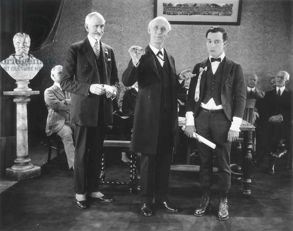 BUSTER KEATON (1895-1966) in a comedy about college life.