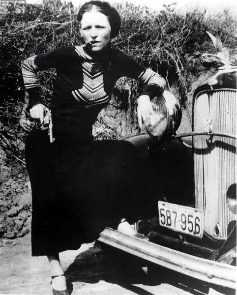BONNIE PARKER (1911-1934) American criminal.