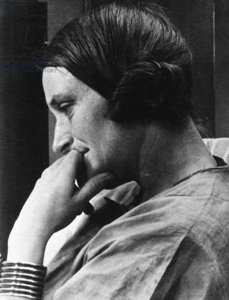DOROTHEA LANGE (1895-1965) American Resettlement Administration photographer.