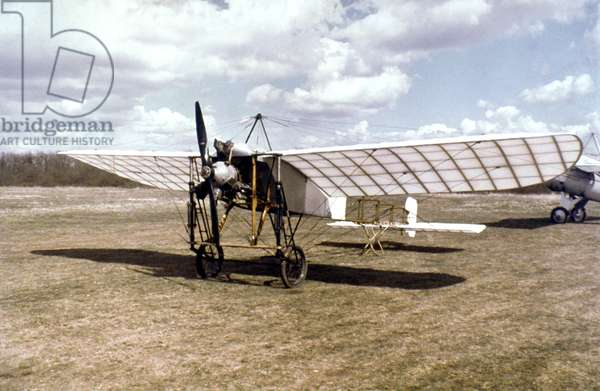 BLERIOT'S PLANE, 1909 Monoplane flown by Louis Bleriot across the English Channel, 25 July 1909.