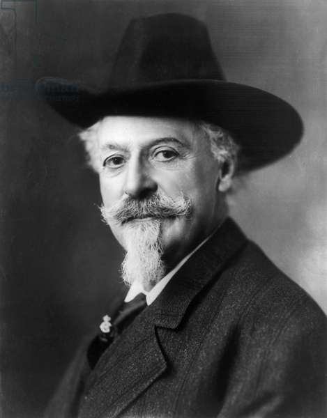 WILLIAM F. CODY (1846-1917) William Frederick Cody. Known as Buffalo Bill. American frontiersman and showman. Photographed c.1911.