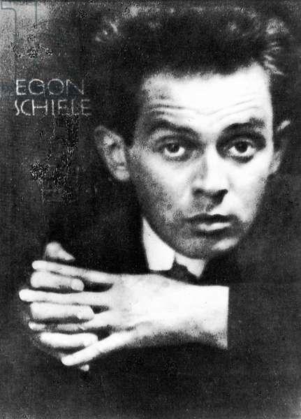 EGON SCHIELE (1890-1918) Austrian painter.