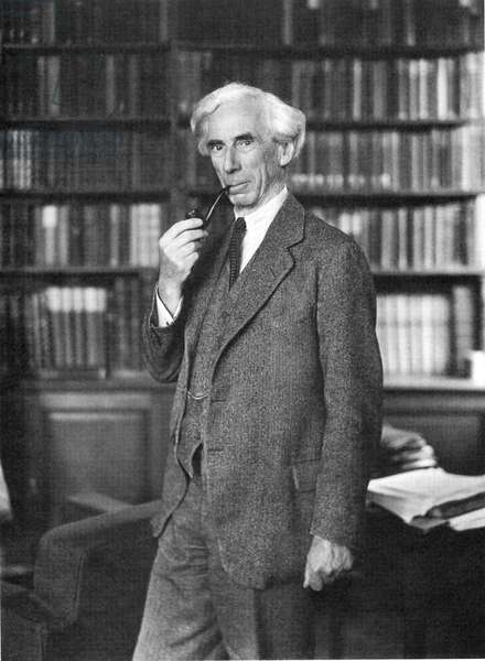 BERTRAND RUSSELL (1872-1970). Philosopher, mathematician, and Nobel Prize laureate. Photographed in 1935.