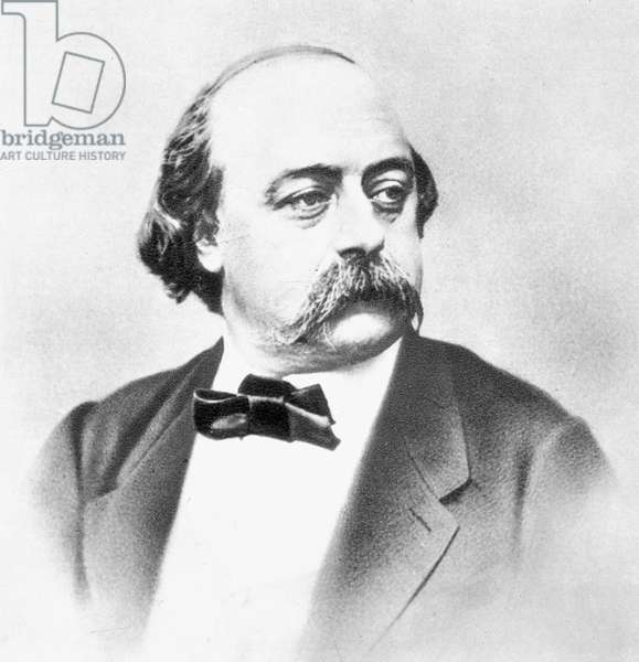 GUSTAVE FLAUBERT (1821-1880) French novelist. Photographed by Nadar.