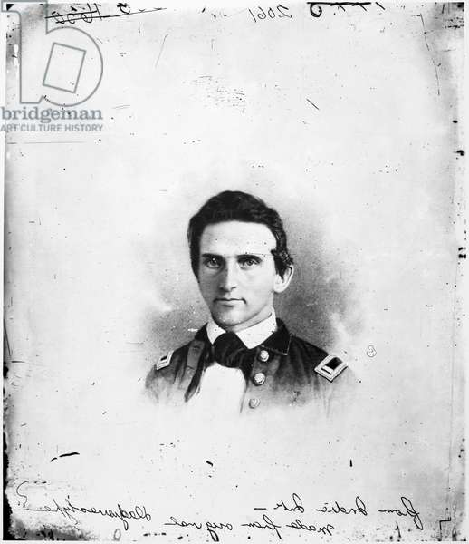 STONEWALL JACKSON (1824-1863). Thomas Jonathan 'Stonewall' Jackson. American Confederate general. Daguerreotype, possibly by Mathew Brady, taken probably during the Mexican War, shortly after Jackson's graduation from the U.S. Military Academy at West Point.
