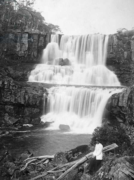 AUSTRALIA: WATERFALL Falls of the Guy Fawkes River, New South Wales, Australia. Photographed 20th century.