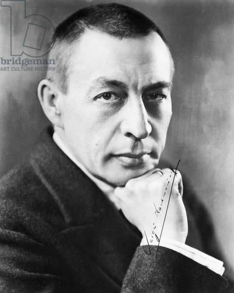 SERGEI RACHMANINOFF (1873-1943). Russian composer, conductor and pianist.