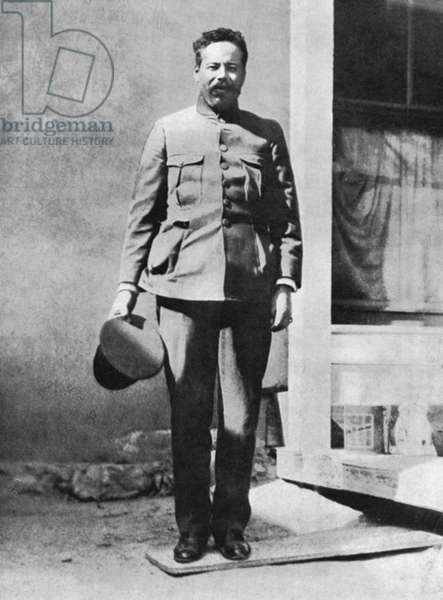 FRANCISCO 'PANCHO' VILLA (1877-1923). Mexican revolutionary leader. Photograph, c.1914.