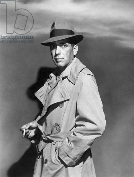 HUMPHREY BOGART (1899-1957) American actor. In the film 'Sirocco,' 1951.