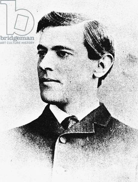WOODROW WILSON (1856-1924) 28th President of the United States. Photographed in 1883.