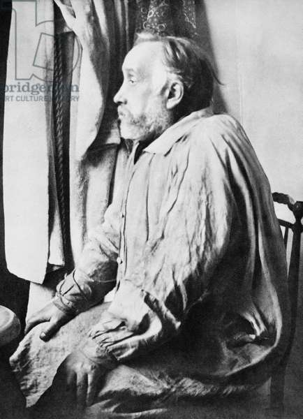 EDGAR DEGAS (1834-1917) French Impressionist painter. Photographed c.1895.