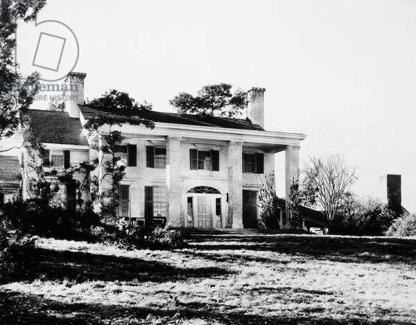 GONE WITH THE WIND, 1939 'Tara,' home of the O'Hara family.