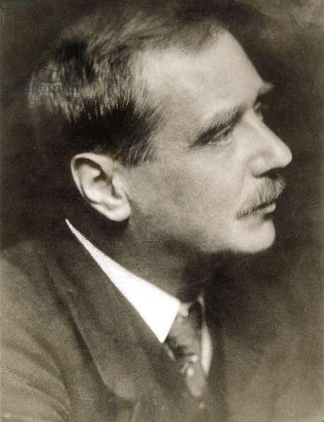 HERBERT GEORGE WELLS (1866-1946). English writer. Undated photograph.