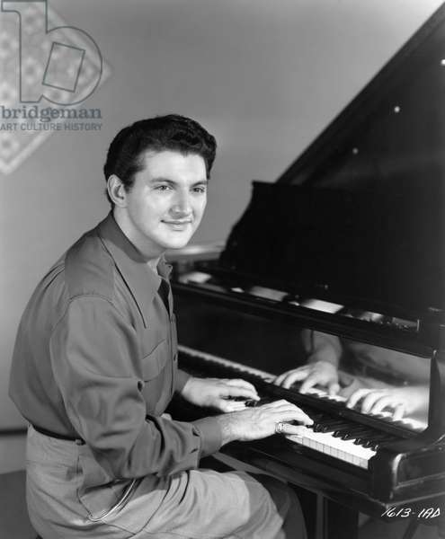 LIBERACE (1919-1987) Wladziu Valentino Liberace. American entertainer. In the film 'South Sea Sinner,' 1949.
