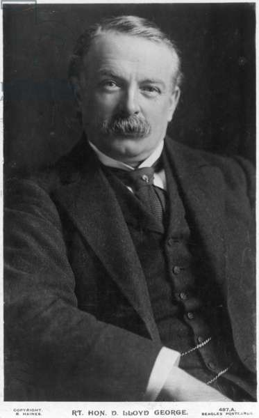 DAVID LLOYD GEORGE (1863-1945). British statesman. Photographed c.1915.